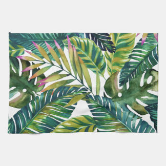 tropical kitchen towel