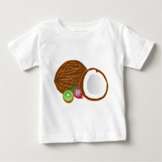 Tropical Kiwi Coconuts Baby T-Shirt