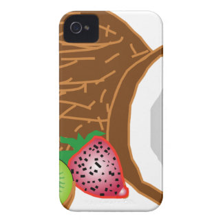 Tropical Kiwi Coconuts iPhone 4 Case-Mate Case