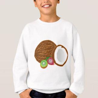 Tropical Kiwi Coconuts Sweatshirt