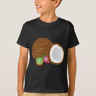 Tropical Kiwi Coconuts T-Shirt