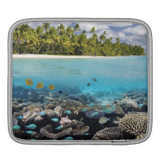 Tropical Lagoon in South Ari Atoll iPad Sleeves