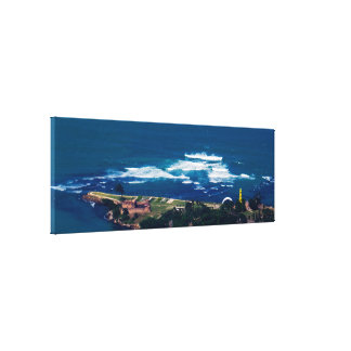Tropical Landscape/Seascape Canvas Print