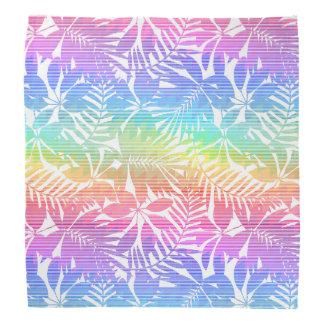 Tropical leaf chevron do-rags