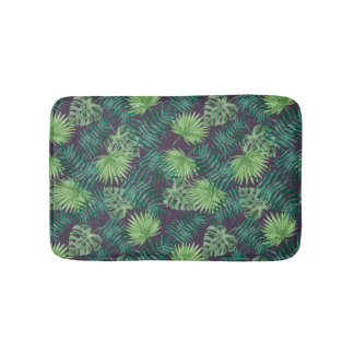 Tropical Leaf Jungle | Bath Mat