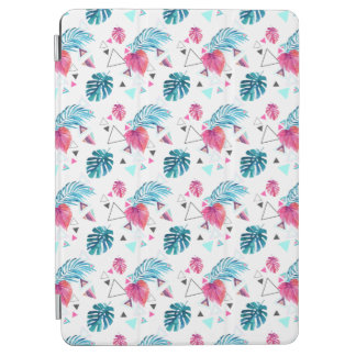 Tropical Leaf Triangle Pattern iPad Air Cover