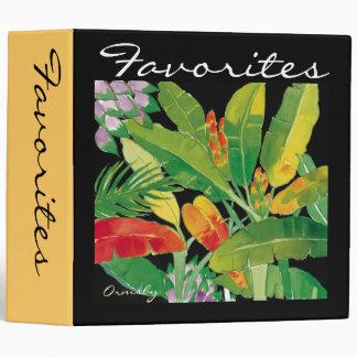 Tropical-Leaves binder