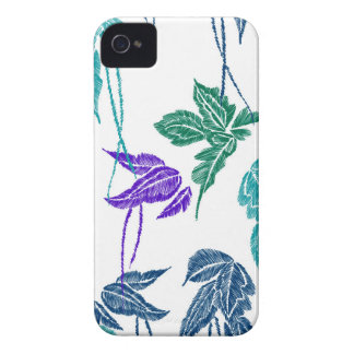 Tropical leaves iPhone 4 cover