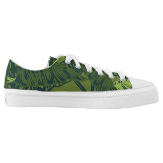 Tropical Leaves Low-Top Sneakers