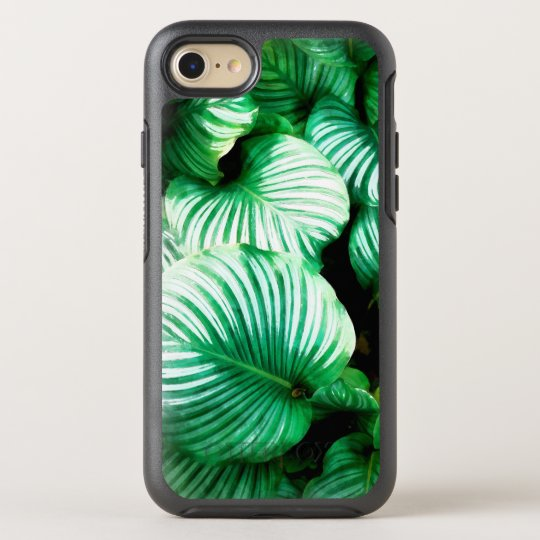 Tropical Leaves OtterBox Symmetry iPhone 7 Case