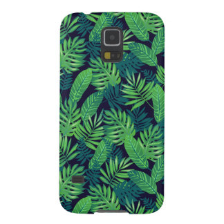 Tropical Leaves Pattern Galaxy S5 Covers
