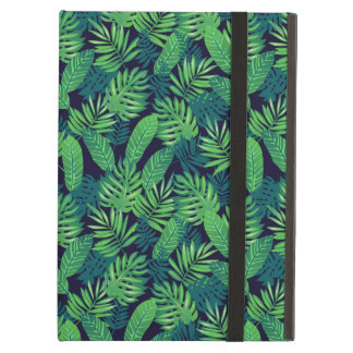 Tropical Leaves Pattern iPad Air Cover