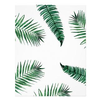 tropical letterhead