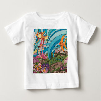 Tropical life baby T-Shirt