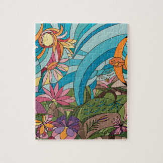 Tropical life jigsaw puzzle