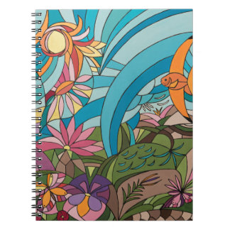 Tropical life notebooks
