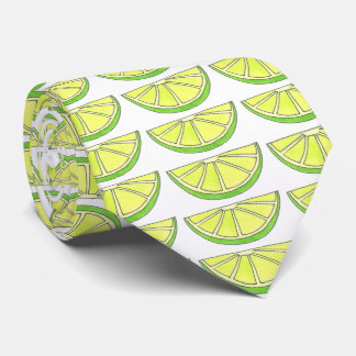 Tropical Lime in the Coconut Fruit Island Tie