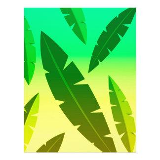 tropical lime letterhead