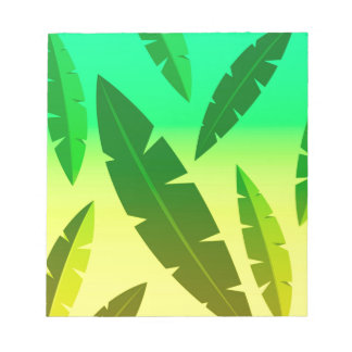 tropical lime notepad