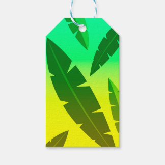 tropical lime pack of gift tags