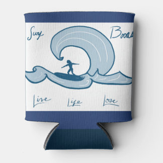 Tropical Live Life Love Tranquilo Surfing Cooler