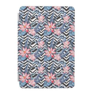 Tropical Lotus Flower Pattern iPad Mini Cover