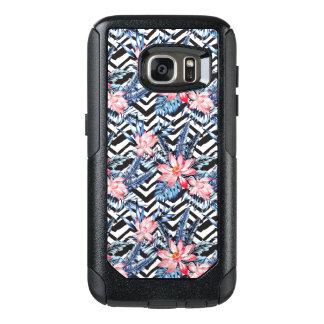 Tropical Lotus Flower Pattern OtterBox Samsung Galaxy S7 Case