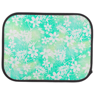 Tropical love car mat
