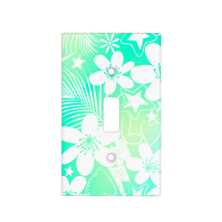 Tropical love light switch cover