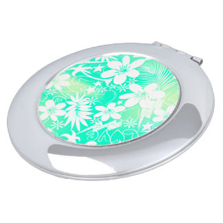 Tropical love makeup mirrors