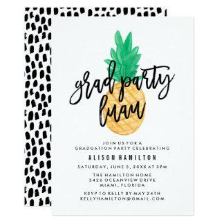 Tropical Luau | Graduation Party Invitation