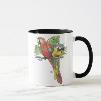 Tropical Macaws Mug