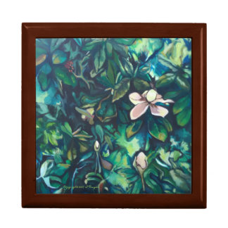 Tropical Magnolia keepsake box