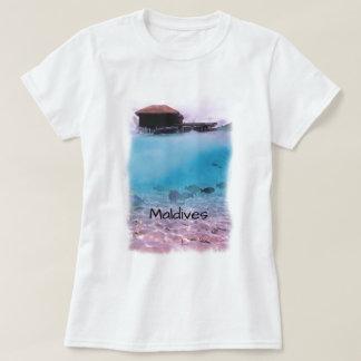 Tropical Maldives Fun Snorkelling Souvenir T-Shirt