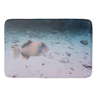 Tropical Maldives Underwater Lagoon Fish Wildlife Bathroom Mat