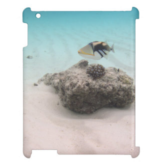 Tropical Maldives White Sand Lagoon Coral Fish iPad Case