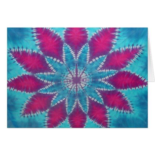 Tropical Mandala Card