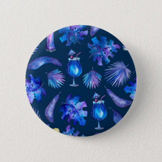 Tropical Nights 2 Inch Round Button