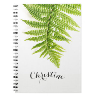 Tropical notebook with your name