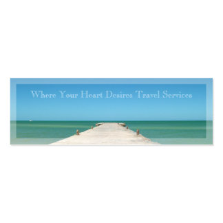 Tropical Ocean Travel Services Business Card