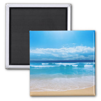 Tropical Ocean View Magnet
