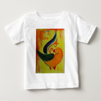 tropical orange baby T-Shirt