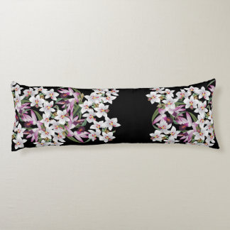 Tropical Orchid Flower Floral Islands Body Pillow