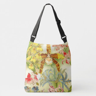 Tropical Orchid Flowers Collection Tote Bag