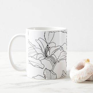 Tropical Outlines Mug