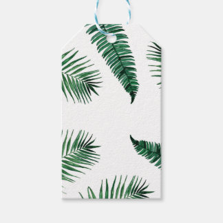 tropical pack of gift tags