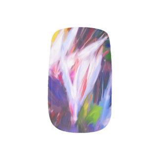 Tropical Painted Nails Minx Nail Art