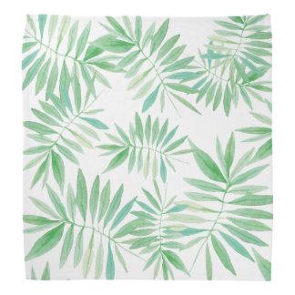 Tropical palm fern storm kerchief