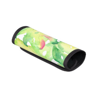 Tropical Palm Frond Luggage Handle Wrap