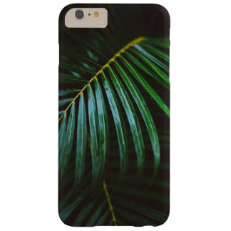 Tropical Palm Leaf Calming Green, Meditative Barely There iPhone 6 Plus Case